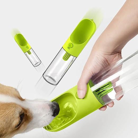mascotas perros accesorios, Sannysis Botella de dispensador de agua portátil de viaje para mascotas Caldera de filtrado para perros para mascotas al aire ...