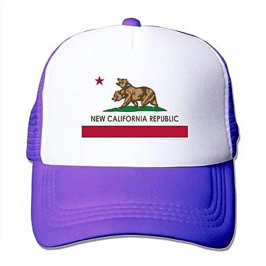 AOHOT Classic Hombre Mujer Gorras de béisbol, New California ...