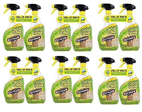 GOO GONE Grout Clean and Restore 28 oz. Trigger Value (12-Pack) by Goo Gone