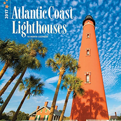 Lighthouses, Atlantic Coast - 2017 Calendar 12 x 12in