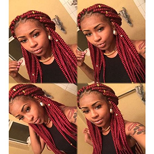 18 Inch Box Braids Synthetic Hair Extensions 3s Small Box