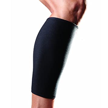 d9dd3bbbaa Cosmos® 1 Piece Neoprene Stretchy Calf Skin Compression Sleeve for  Basketball / Running / Baseball