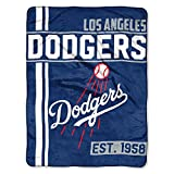"Los Angeles Dodgers Walk Off Micro Raschel Throw Blanket, 46"" x 60"""