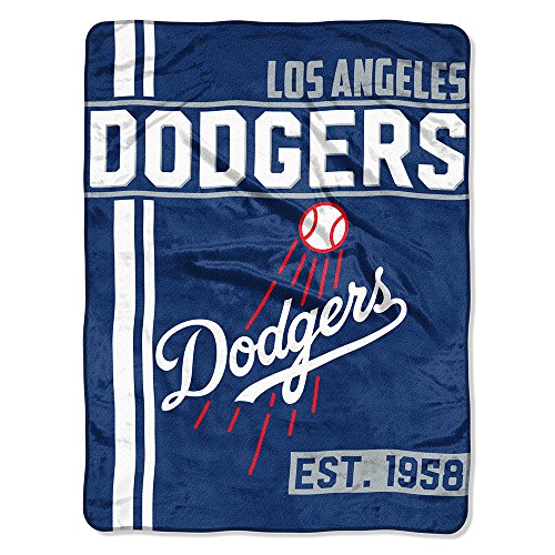 - Los Angeles Dodgers Walk Off Micro Raschel Throw Blanket, 46