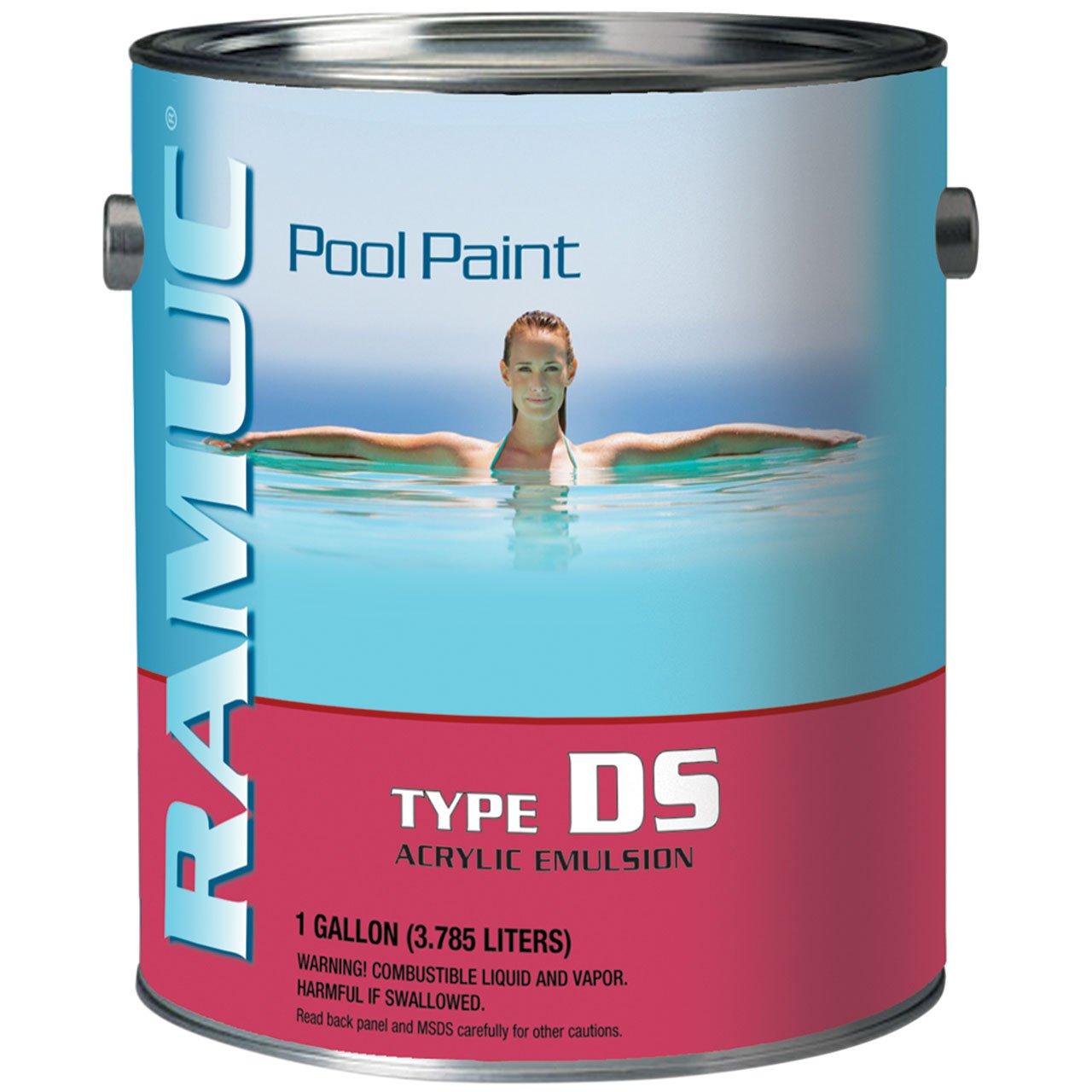 Ramuc DS Acrylic Pool Paint - White (1 Gallon)
