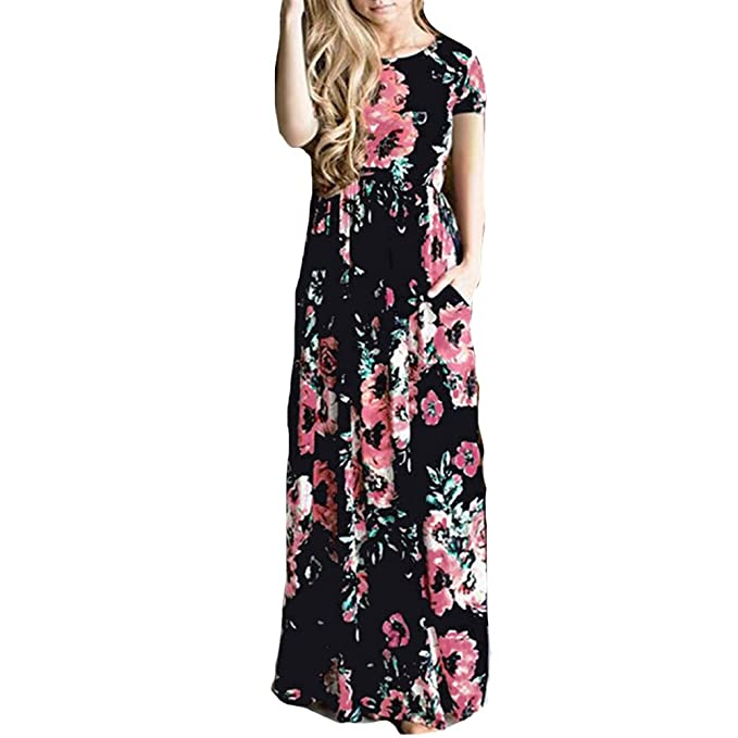 Casual Floor Length Spring Dresses