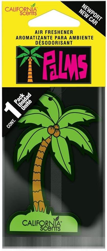 Amazon.es: California Scents ho-022 – Ambientador Coche Perfume Palmera New Car