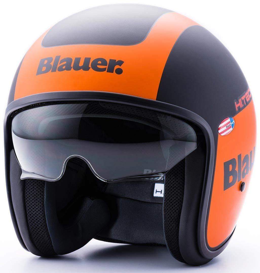 Blauer HT casco Pilot 1.1/HT gr/áfica G XL BLACK-GREEN MATT