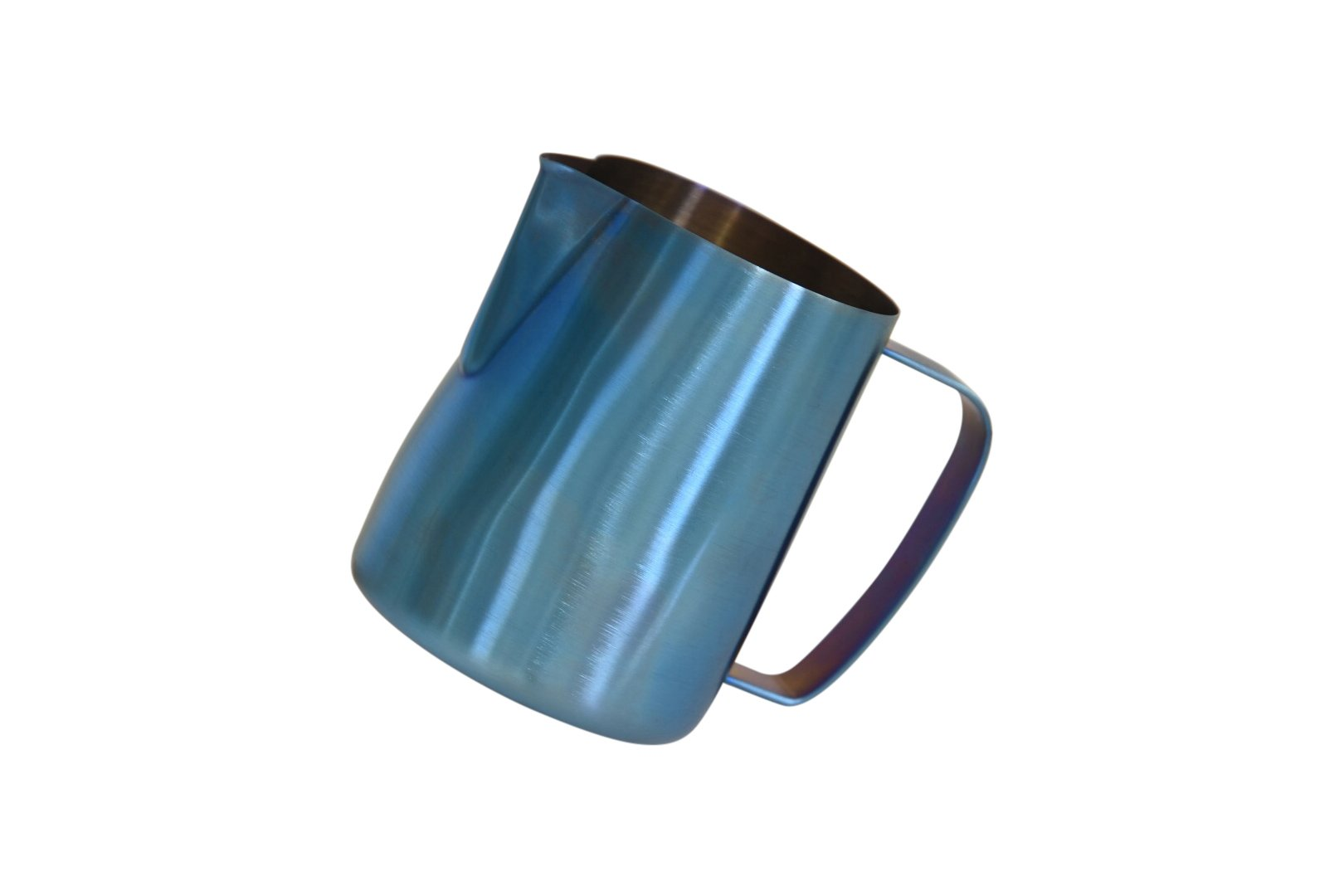 Latte Art | Stainless Steel Premium Milk Frothing Pitcher (Light Blue, 20 oz) by Barista Swag (Image #2)