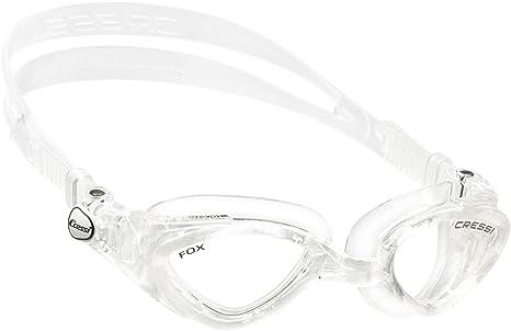 6e6d9dd1e778 Cressi Occhialini da Nuoto a Oculari Separati, Antigraffio / Anti UV,  Trasparente/Lenti