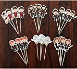 HARRY POTTER CUPCAKE TOPPERS BIRTHDAY PARTY