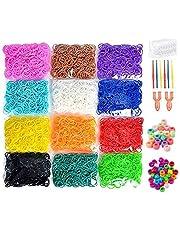5200+ Rubber Bands Refill Kit for Girls Boys Handicraft Gift