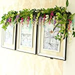 Miracliy-Artificial-Flowers-Vine-2-Pcs-66ft-Fake-Silk-Wisteria-Ivy-Vine-Rattan-Hanging-Garland-for-Home-Party-Wedding-Decor