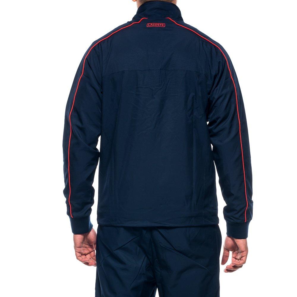 Lacoste Sport Chándal para Hombre WH7532, Azul Marino, Blanco y ...