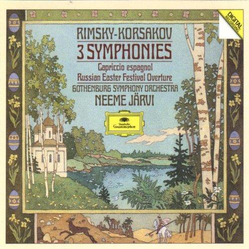 Rimsky-Korsakov: 3 Symphonies, Capriccio Espagnol, Russian Easter Festival Overture by Deutsche Grammophon