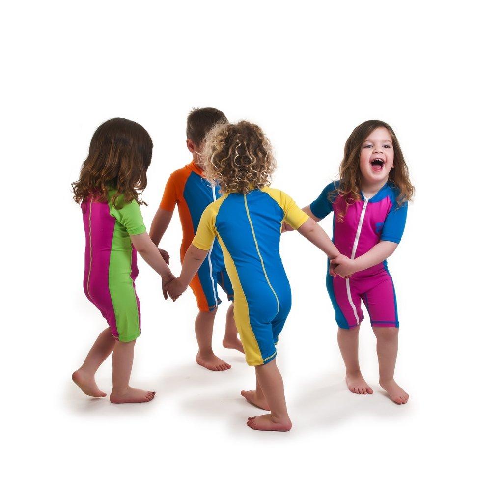 85845760a Protector Solar 50 para niños 50, traje de baño para niños entre 2 años  hasta 10 ...