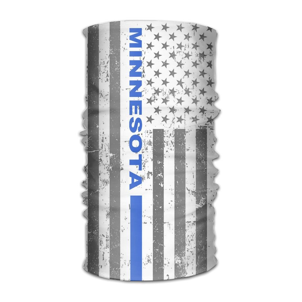 Amazoncom Minnesota Thin Blue Line Flag Headwear Bandanas