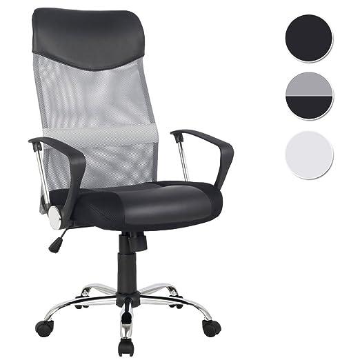 63 opinioni per SixBros. Office Poltrona Sedia ufficio grigio/nero- H-935-6/2061