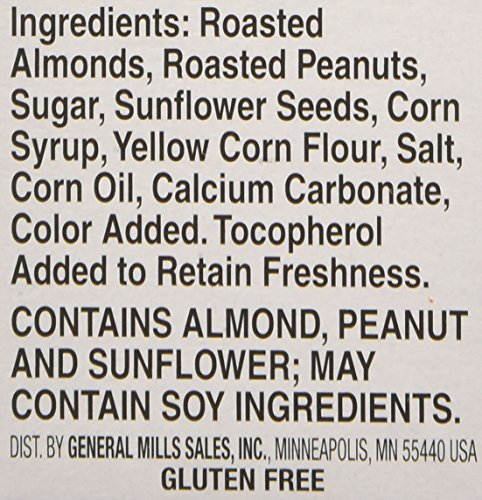 Nature Valley Granola Bars, Roasted Nut Crunch, Almond Crunch, (Each 6 Count of 1.24 oz Bars) 7.44 oz, Pack of 6