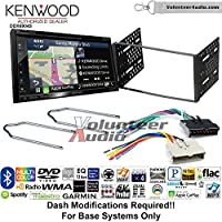 Volunteer Audio Kenwood Excelon DNX694S Double Din Radio Install Kit with GPS Navigation System Android Auto Apple CarPlay Fits 1995-1997 Explorer, 1997 E-150, 2004-2006 Expedition