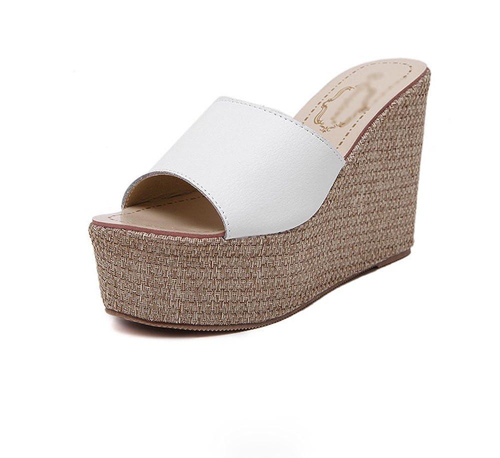 Weiwei Damen Sandaletten, Sommer Mode Mode Mode Sandalen Highheels Strand Hausschuhe e1b1a1
