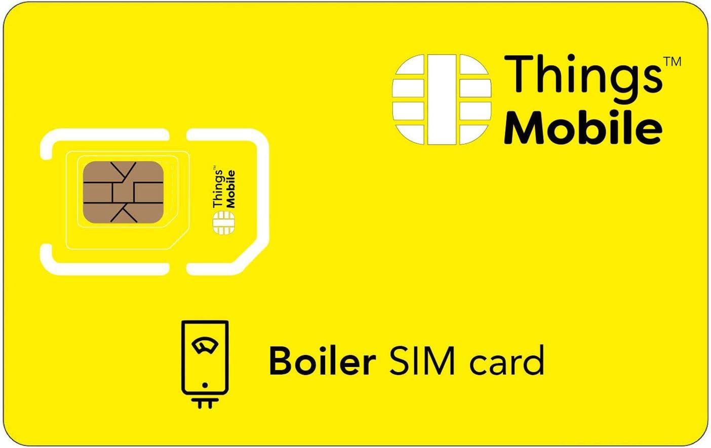 TARJETA SIM para CALDERAS - Things Mobile: Amazon.es: Electrónica