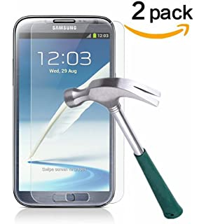 Amazon samsung galaxy note ii n7100 16gb gray unlocked galaxy note 2 screen protectortantek bubble freehd clear ccuart Image collections