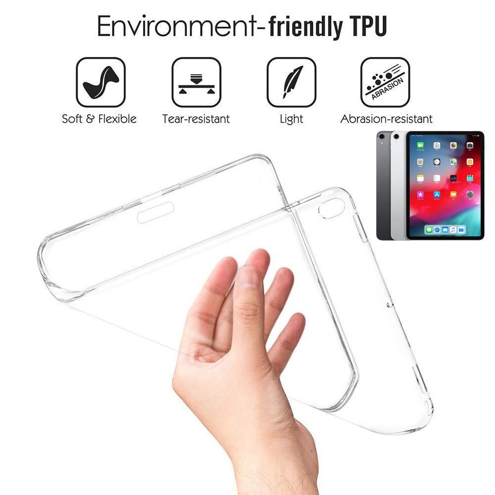 多様な スマートフォリオアクセサリー ソフトTPUシリコンゲル透明ケース iPad Pro iPad 11インチ 12.9\ 2018用 iPad For Pro 12.9インチ用 For iPad Pro 12.9\ クリア B07KW9D59X, IKUKO(イクコ) shop Lilylily:442f4b03 --- a0267596.xsph.ru