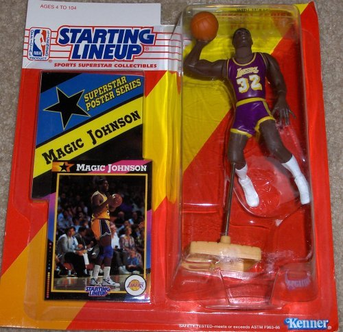 Magic Johnson 1992 Starting Lineup by Starting Line -