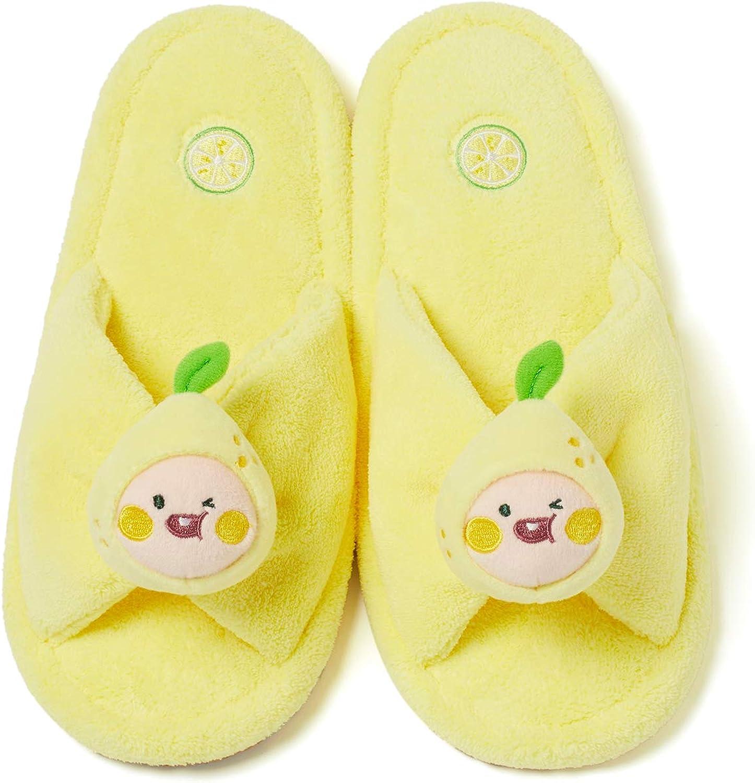 KAKAO FRIENDS Official- Lemon Terrace Room Slippers