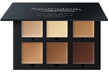 bfd2e0ef5f36 Aesthetica Cosmetics Cream Contour and Highlighting Makeup Kit -  Contouring...