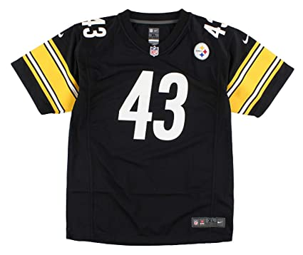 finest selection 430f5 c167a Nike Troy Polamalu Pittsburgh Steelers Youth Game Jersey - Black (XL)  Ret.$70