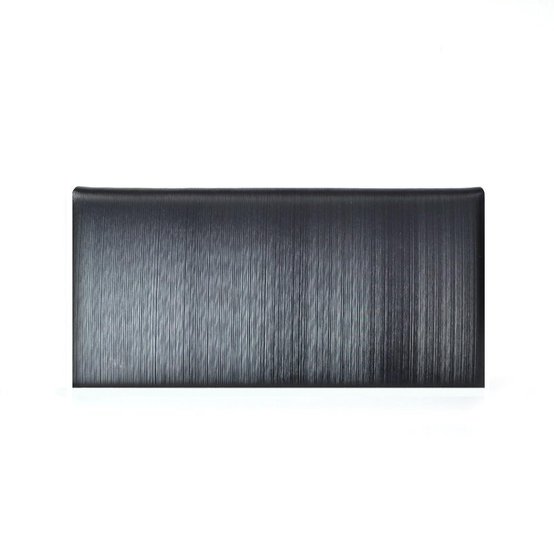 【CORUNDUM】 コランダム イタリア製 ストリシアレザー 二つ折り長財布 札入れ 小銭入れなし B01LXS6TQD
