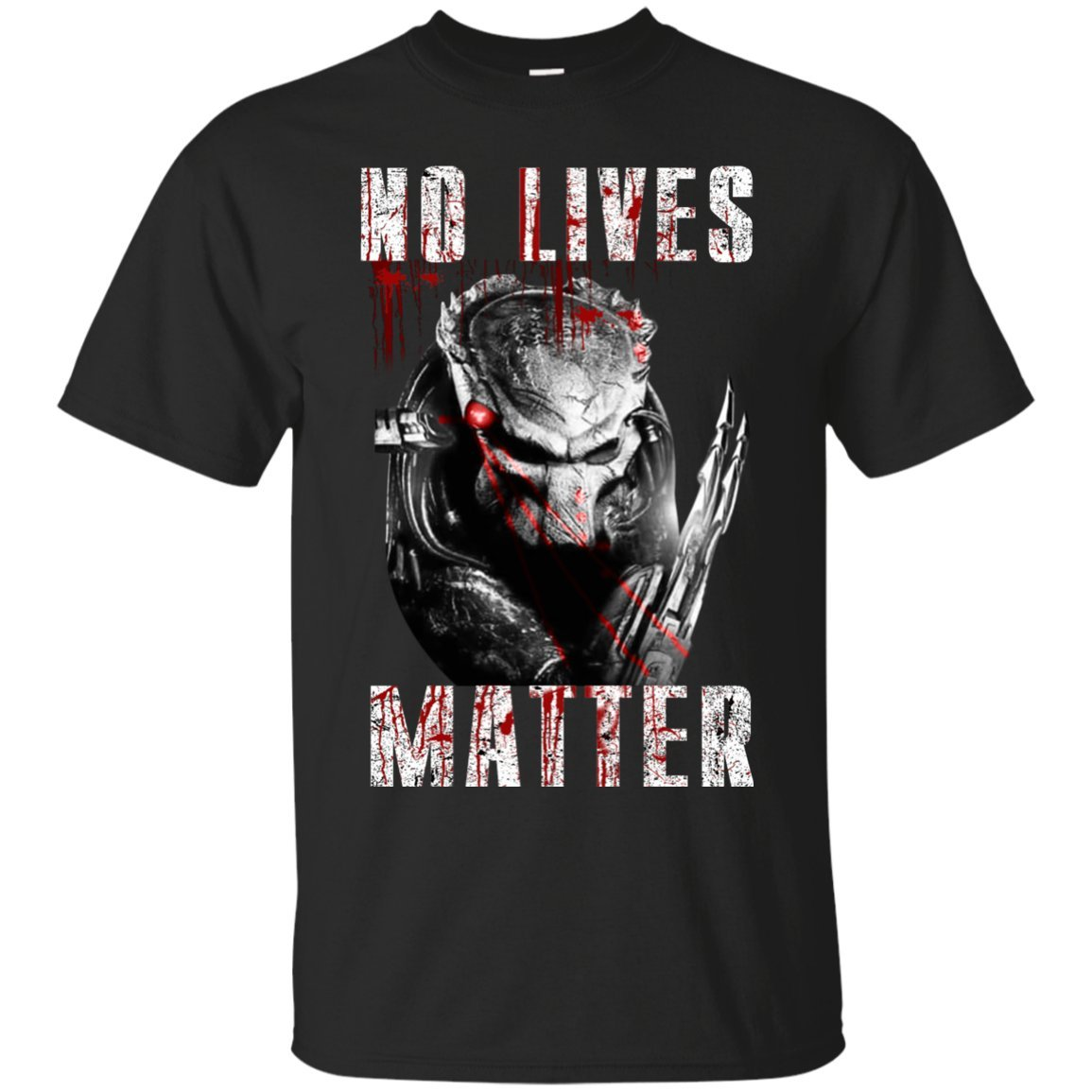 Novelty Gifts T-Shirt Alien Vs Predator All Lives Matter Perfect for Kids, Friends, youngbrother, Brother, Boyfriend