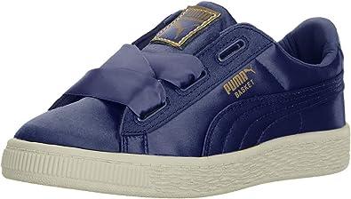 PUMA Kids Basket Heart Sneaker