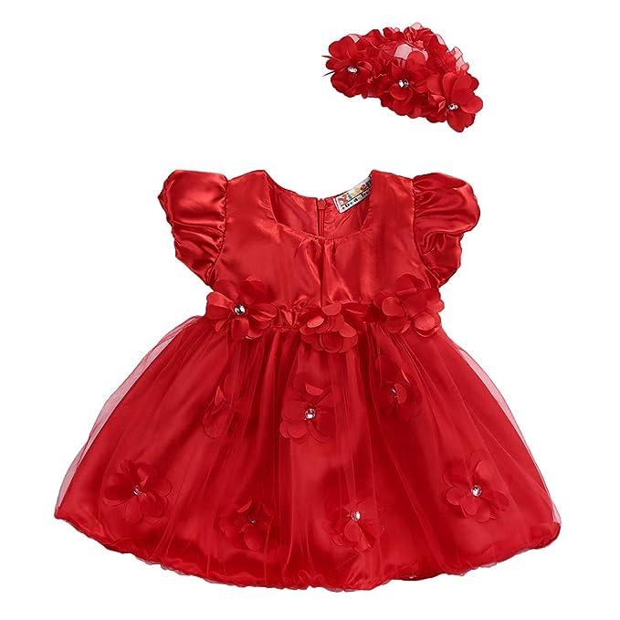 Amazon.com: Brillante vestido de tutú para bebés y niñas ...