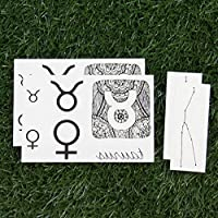 Tatuajes Temporales Tattify - Signos Zodiacales – Escorpio (Juego ...