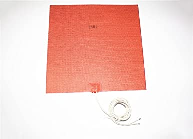 """24/"""" X 24/"""" 610 X 610mm 110V 1600W Factory Direct Sale CE UL Silicone Heater Pad"""