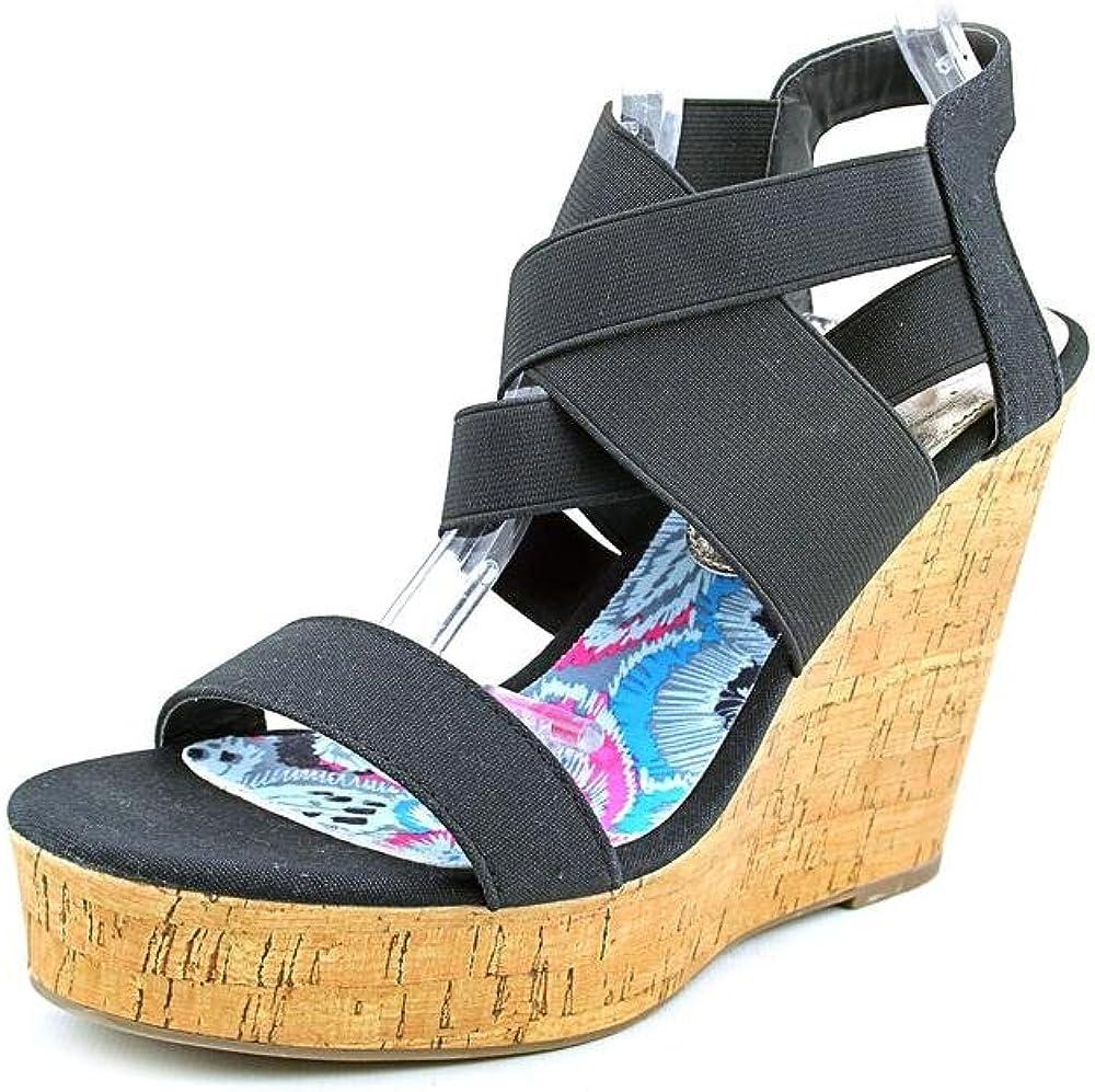 Madden Girl Women Eastt Wedge Sandals