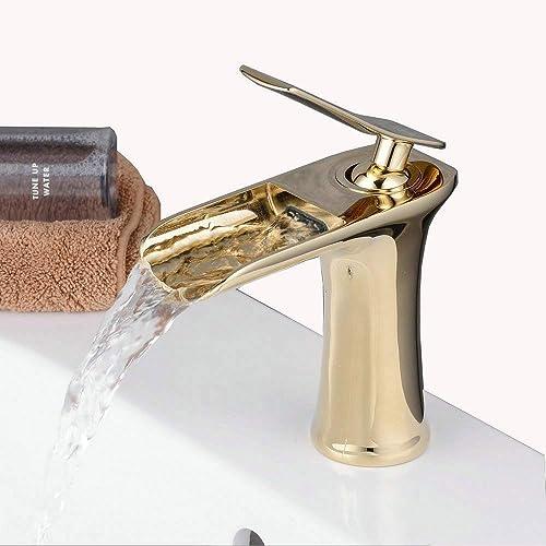 gold bathroom taps amazon co uk