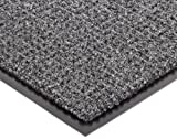 Notrax 138 Uptown Entrance Mat, for Upscale Entrances, 3' Width x 5' Length x 3/8'' Thickness, Charcoal