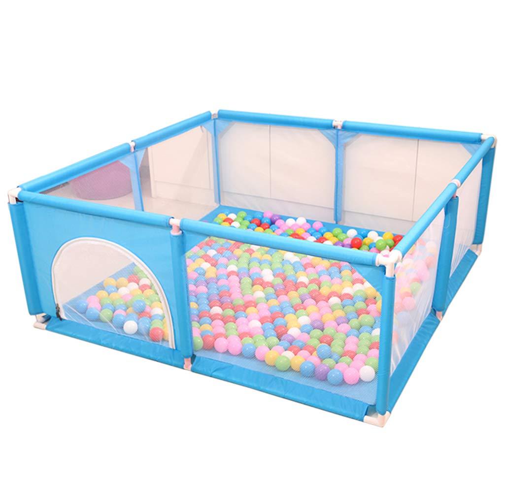 ベビーベビーサークル| 幼児プレイフェンス|写真幼児プレイフェンス フィットフロアマットと鮮やかな色のプレイボール|ビスタプリント 丈夫で丈夫 - 高品質の非毒性素材で作られています   B07SXDMJ2R