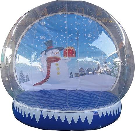 Amazon.com: Foammaker - Bola de nieve hinchable transparente ...