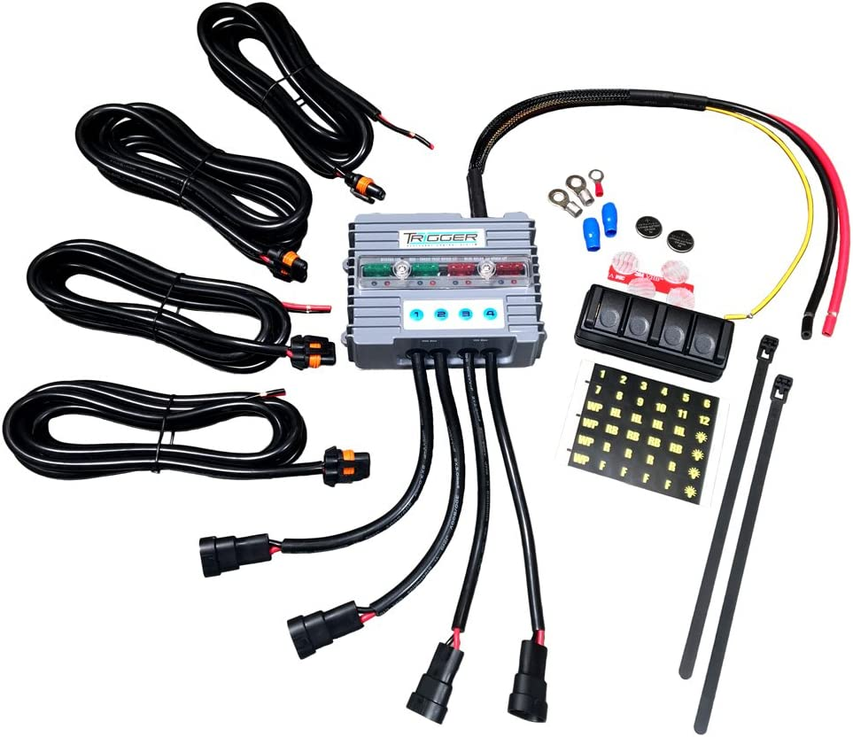 TRIGGER 2001 Wireless Accessory Controller 4-Switch Relay System