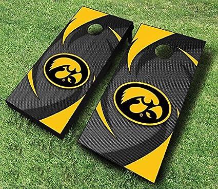 Iowa Hawkeyes Tigerhawk Cornhole Boards