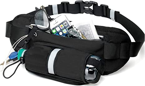 Sports Waist Bag Belt Fanny Pack Hiking Running Bum Bag Water Bottle Holder