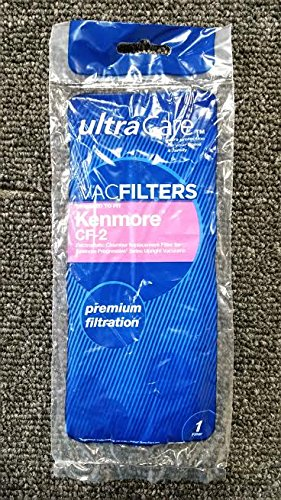 UltraCare Vacuum Filter for Kenmore CF-2 Upright - 2 Filter