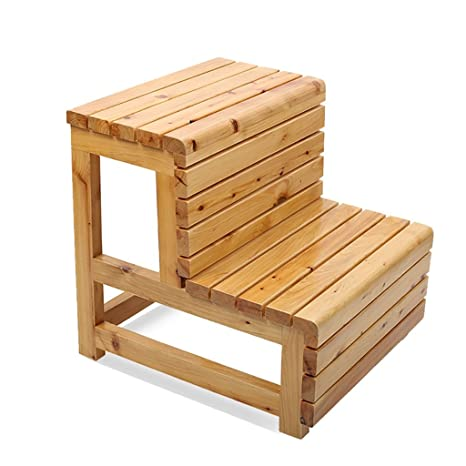 Terrific Step Stool Bathroom Stool Solid Wood Double Step Ladder Alphanode Cool Chair Designs And Ideas Alphanodeonline