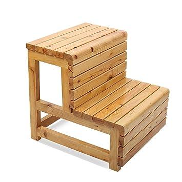 tabouret de salle de bain en bois massif impermable la corrosion protection anti drapante