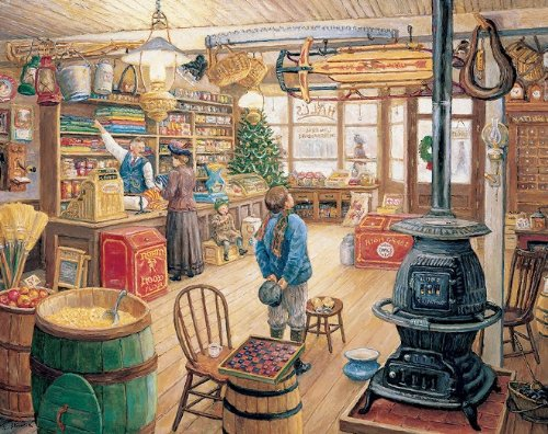 White Mountain Puzzles The Olde General Store - 1000 Piece Jigsaw Puzzle made in New England